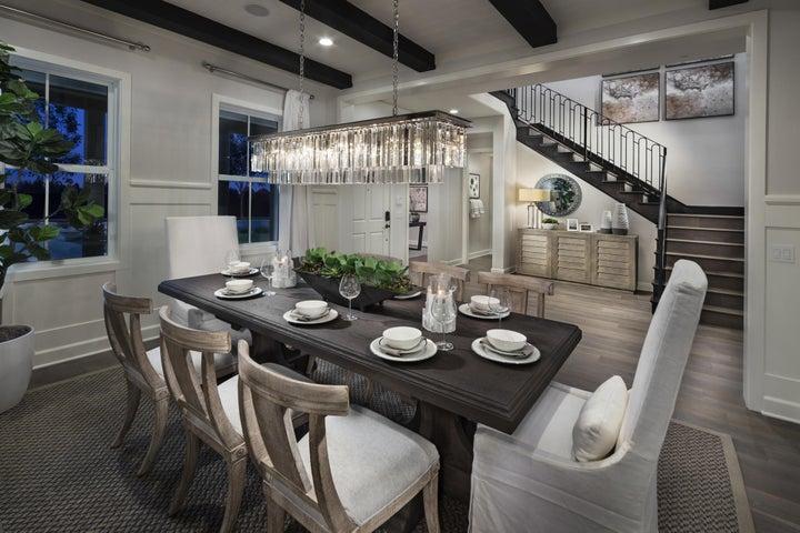 Amarena model home dining room