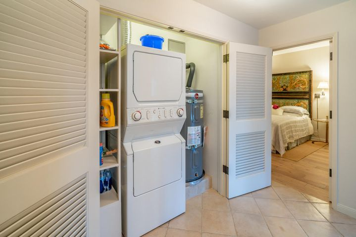 Laundry Area and Storage