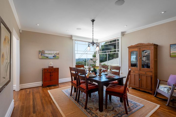 Formal Dining room, ocean views