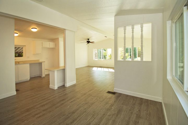 Dining Room, Kitchen and Livingroom