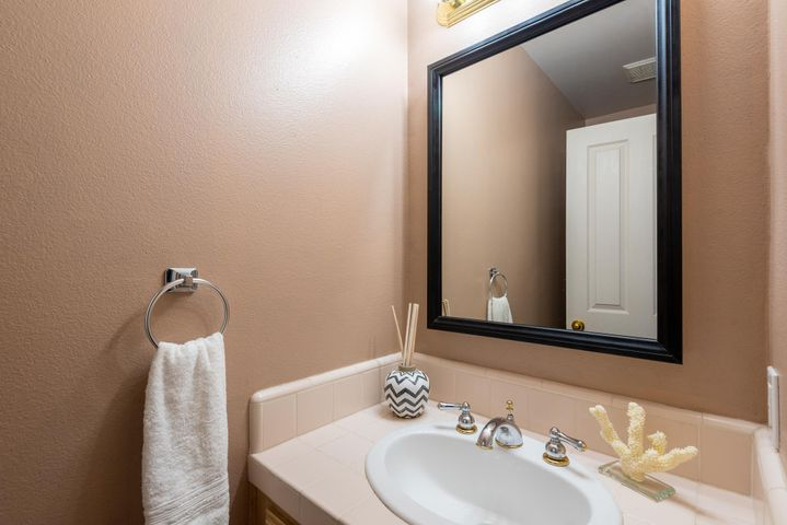 Powder Room - Third Bathroom