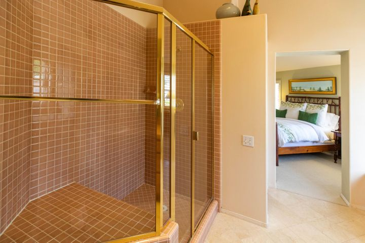 Spacious Master Shower