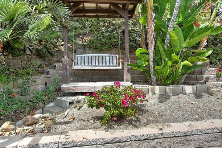 Romantic Garden Swing