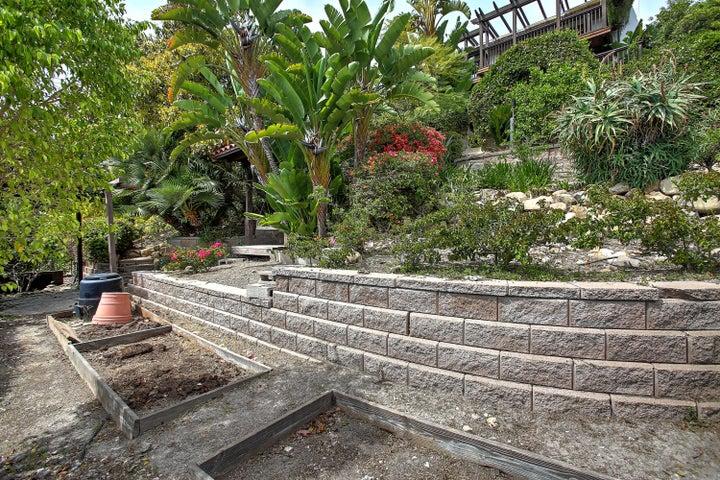 Lower Garden + Vegetable Beds