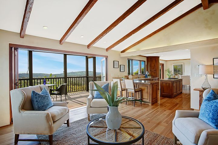 Living Room + View Deck