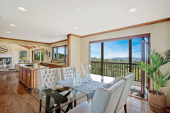 Dining Room + View Deck