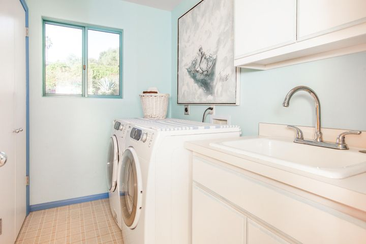 Laundry Room and Sink
