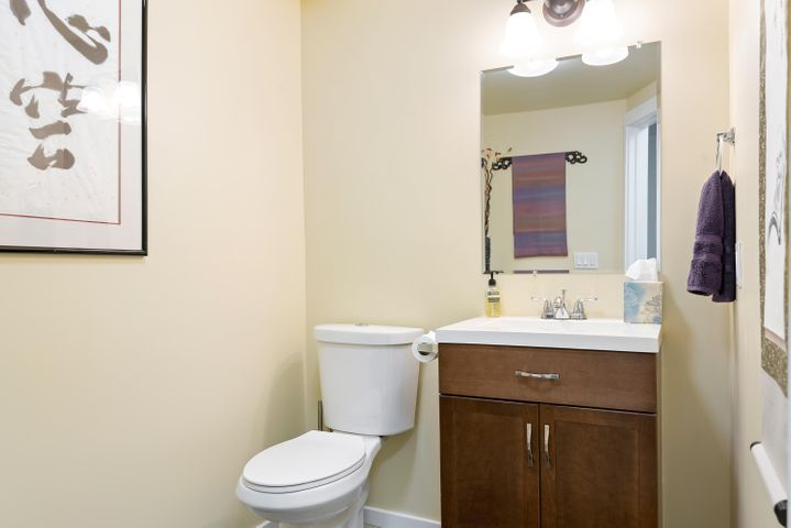 1/2 Bath in Guest /  Office