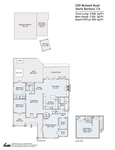 209 Mohawk Floorplan