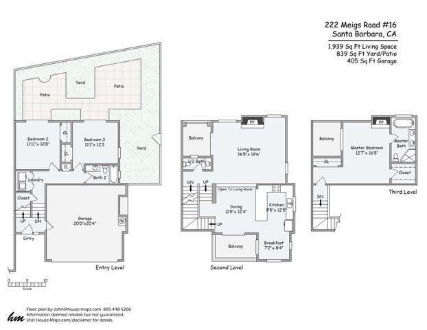 222 Meigs Floorplan