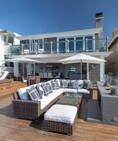 Beachfront Deck
