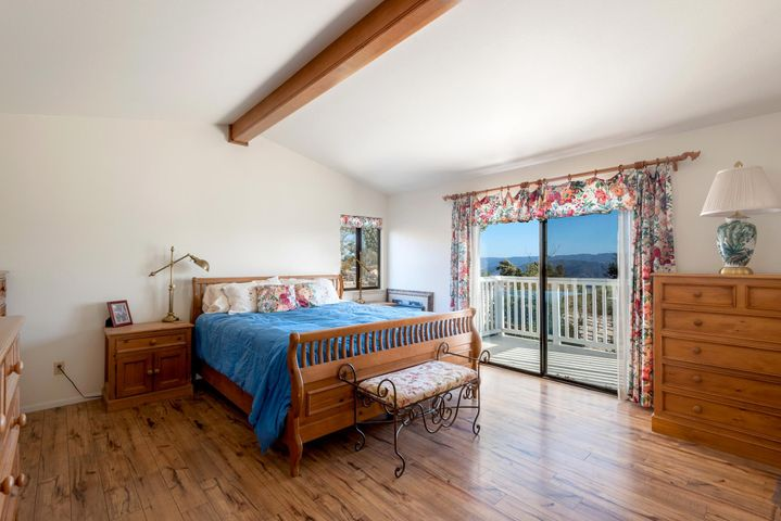Master Bedroom with Balcony and Views