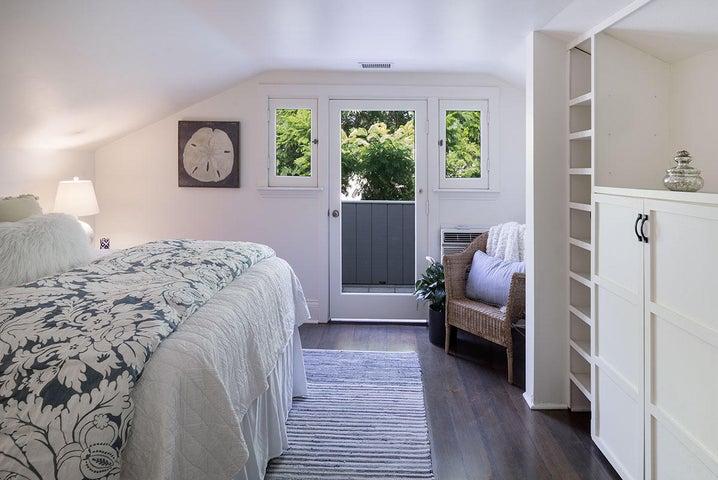 Master Bedroom from hallway