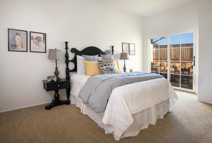 Bedroom 2 with Private Patio