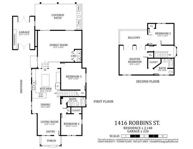1416 Robbins St. FP