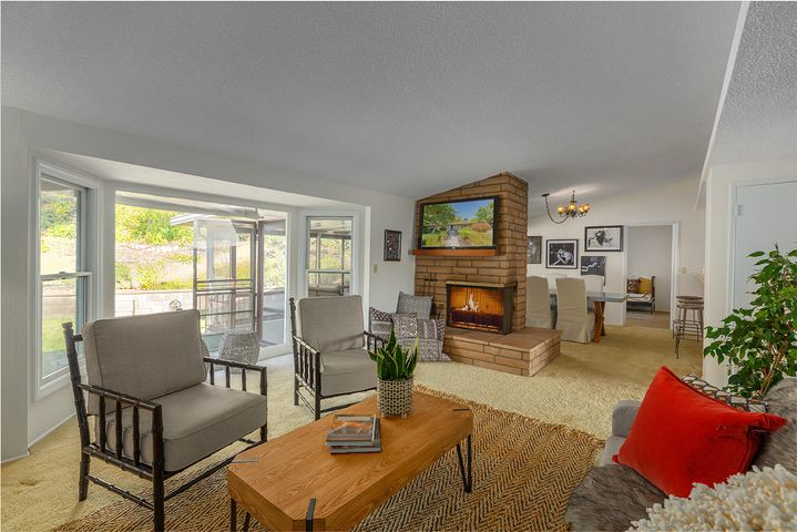 Living Rm into Dining Room