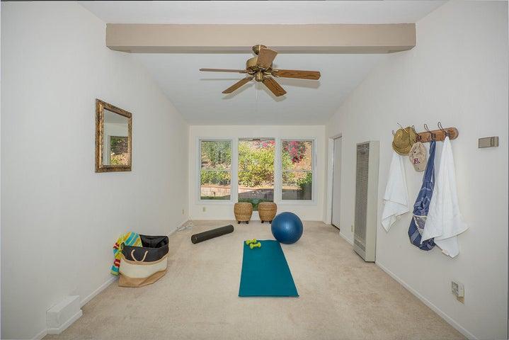 Work out room or den