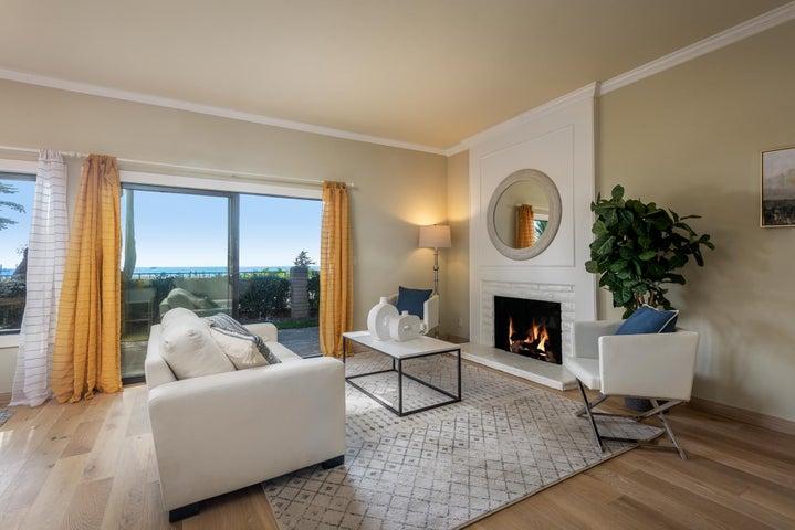 Living Room ~ Stunning Ocean Views
