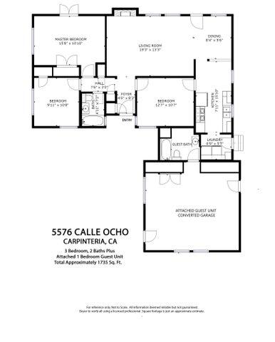 calle ocho floor plan