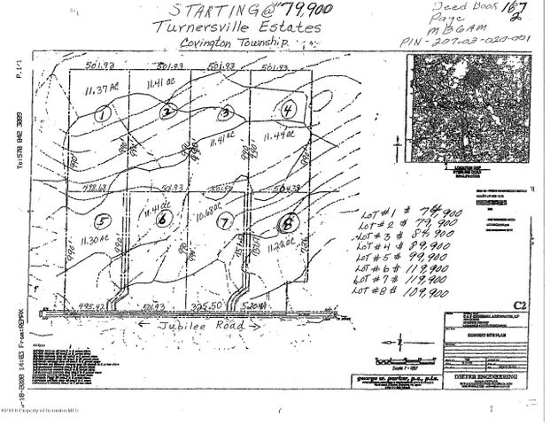 LOT 7 Jubilee Rd-Turnersville, Covington Twp, PA 18424