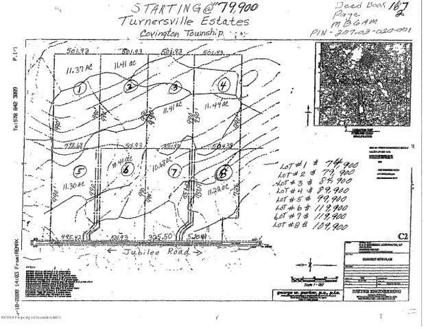 LOT 8 Jubilee Rd-Turnersville, Covington Twp, PA 18424