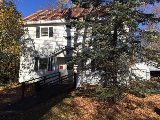 Montrose Borough priced right Colonial solid home with 2 car garage on level lot.  Large rooms, spacious living area.  $5000 concession for new flooring. Newer furnace and hot water heater (2016). Ready for your decorating ideas.