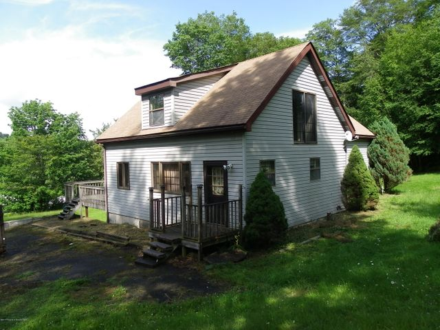 This 4 to 5 bedroom home sits on 10.25 acres just outside of montrose. Comes with gas rights for extra income, most wooded lot with nice front cleared yard. very spacious rooms, with family room, walk out basement, 3 full baths, upstairs bedroom and bath all new, great property must see!