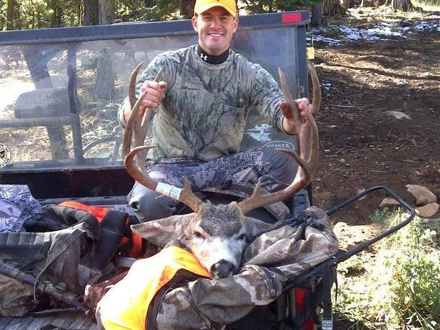 Schaffer Mountain Ranch buck 2011