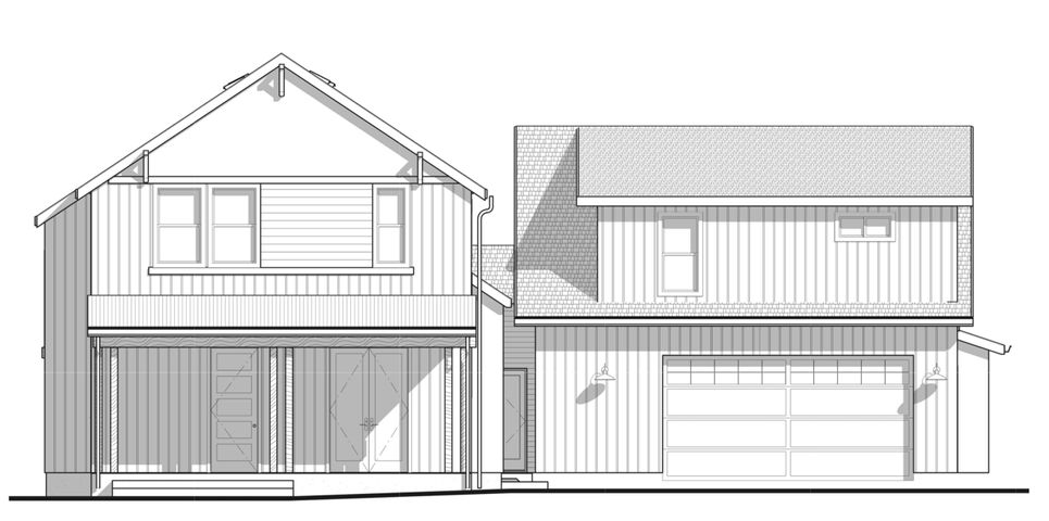 The 2,141sf plan is the same as the 2,276 plan but without the bump out for the den and larger master bath.