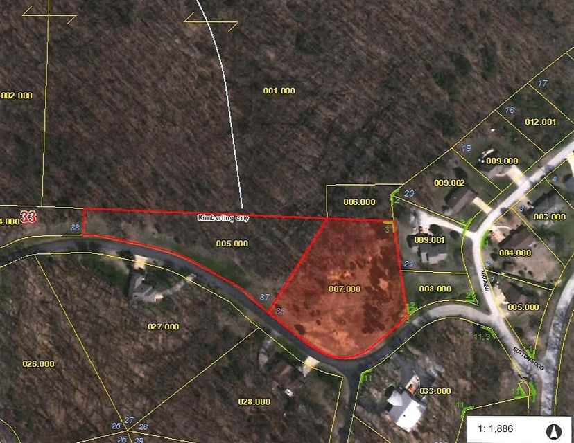 Lot 36  Buttonwood Drive Kimberling City, MO 65686