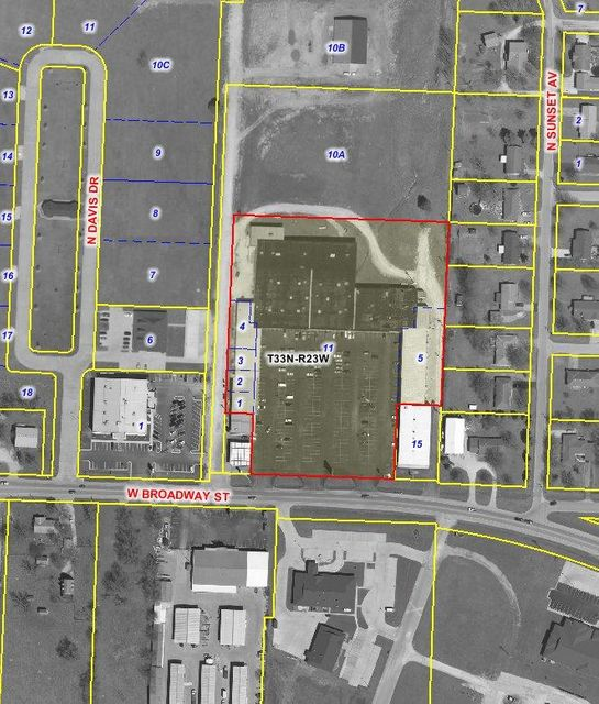 Commercial for sale – 1800-1900 West Broadway   Bolivar, MO