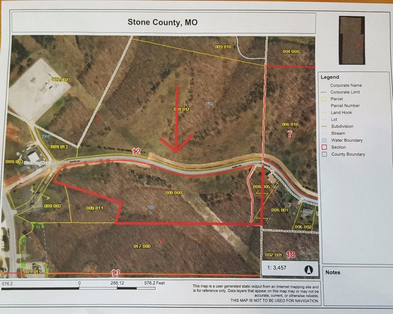 Tract D Meadowlark Road Branson West, MO 65737