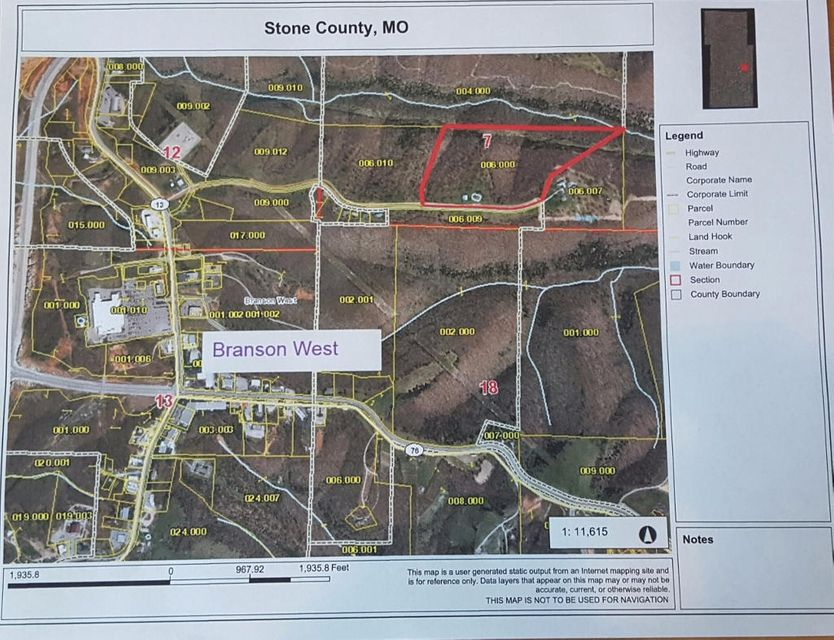 Tract A Meadowlark Road Branson West, MO 65737