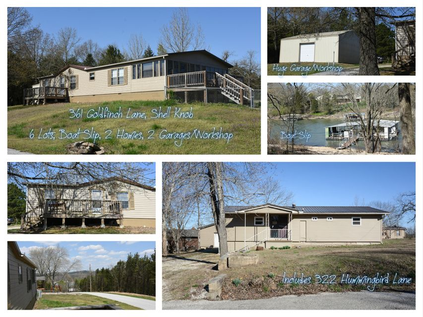 361 Goldfinch (combined Listing) Lane Shell Knob, MO 65747