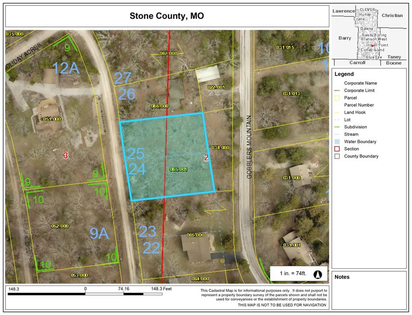 Lot 24/25 Holiday Acres Circle Branson West, MO 65737