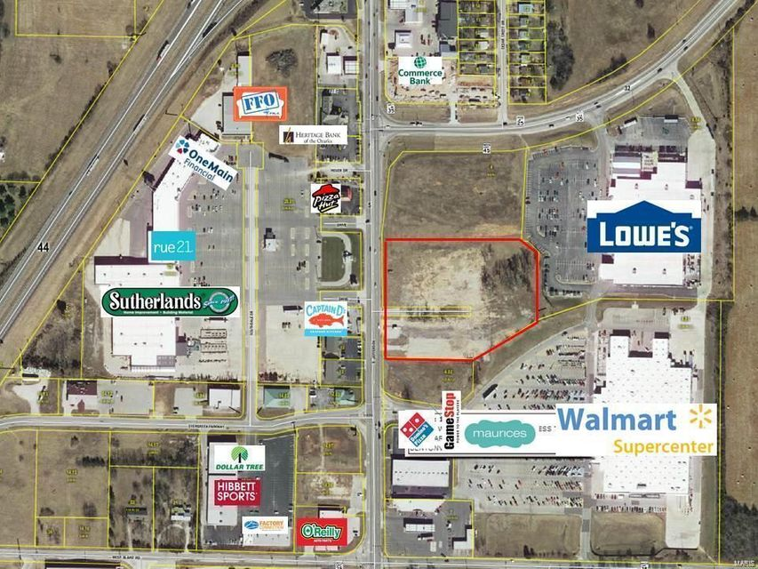Commercial for sale – 1700 South Jefferson/Walmart-Lowes Entry   Lebanon, MO