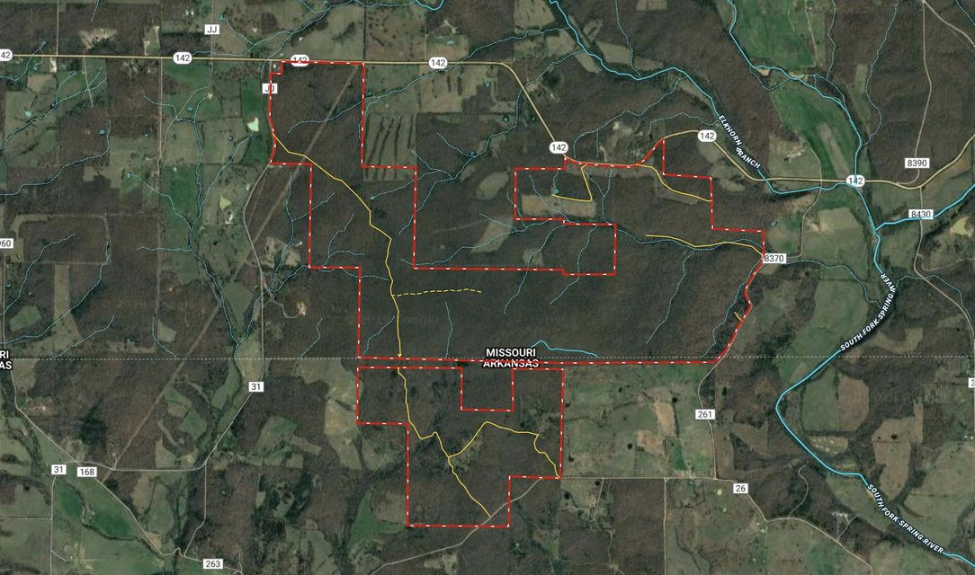 Lots and Land for sale – 000  State Route 142   West Plains, MO