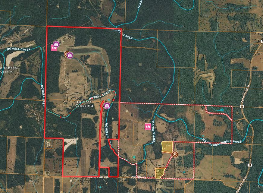 Farm for sale – 000  County Road 350   Koshkonong, MO