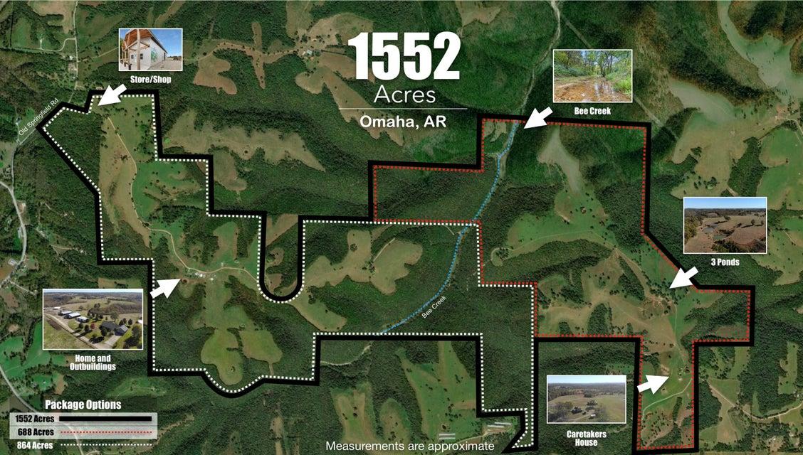 Farm for sale – 14075  Bee Creek   Omaha, AR