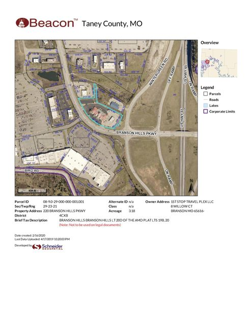 Commercial for sale – 220  Branson Hills   Branson, MO