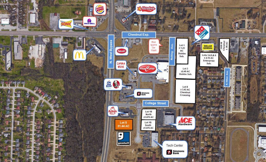 Lots and Land for sale – 240 South Western (North Lot)   Springfield, MO