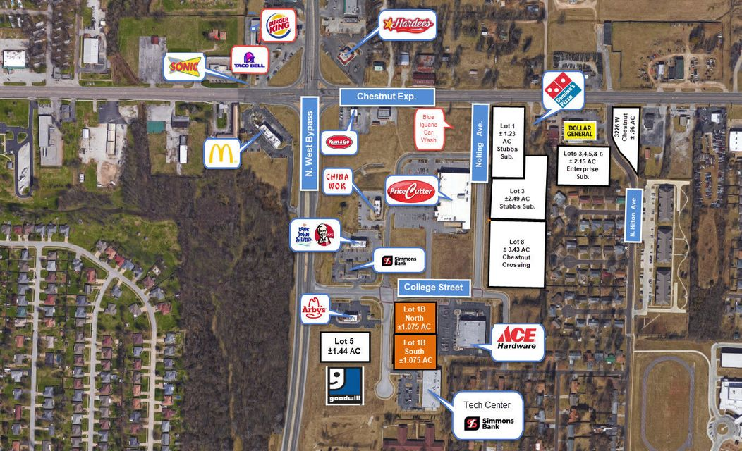 Lots and Land for sale – 240  Western (South Lot)   Springfield, MO
