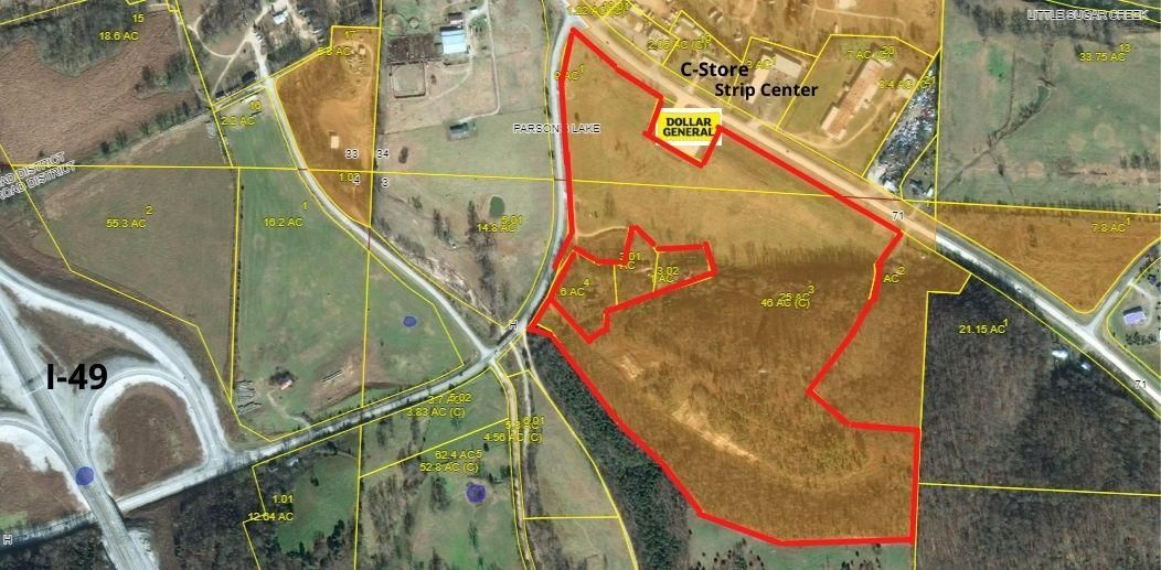 Lots and Land for sale – Xxx  Bus Us-71   Pineville, MO