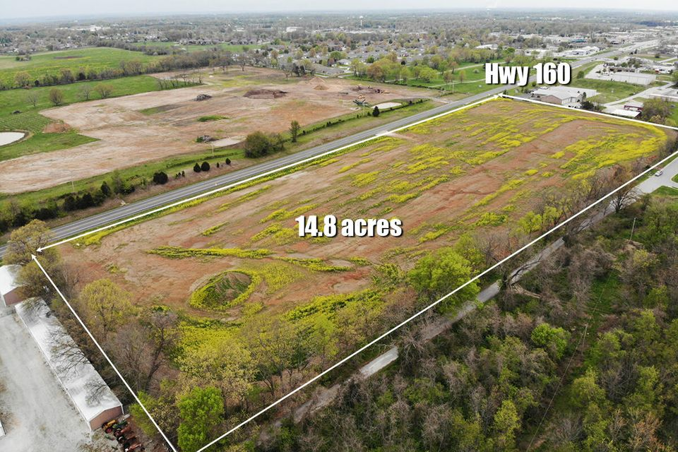 Commercial for sale – 000 (Tbd)  Hwy 160 (14.8 Acres)   Nixa, MO