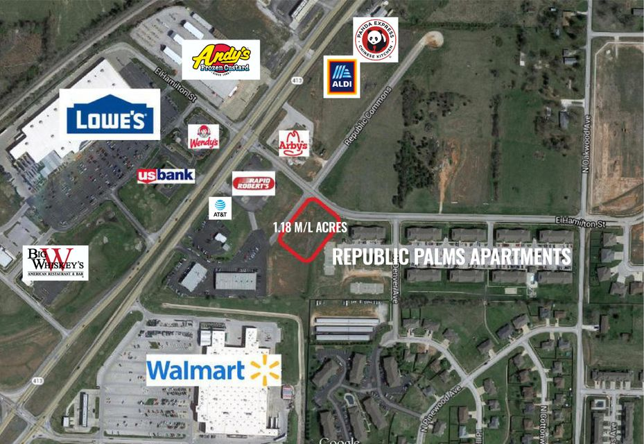 Lots and Land for sale – 1548 East Hamilton   Republic, MO