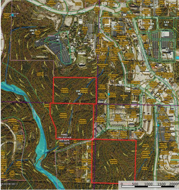 Lots and Land for sale – 000  Schaefer Drive   Branson, MO