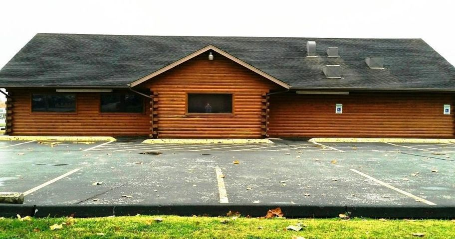 A RARE Find! 3370' log building with 3 phase electrical located in the epicenter of the Nixa business district. It's zoned Highway Commercial. Very flexible in uses! Restaurant, Antique store, Craft store, Bass Pro theme would be great with this log construction property! Let the imagination go wild!