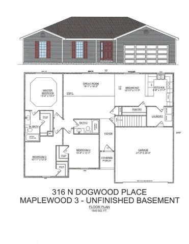 316 North Dogwood Place, Lot 115, Branson West, MO 65737