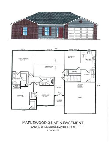 555 Emory Creek Boulevard, Lot 15, Branson, MO 65616