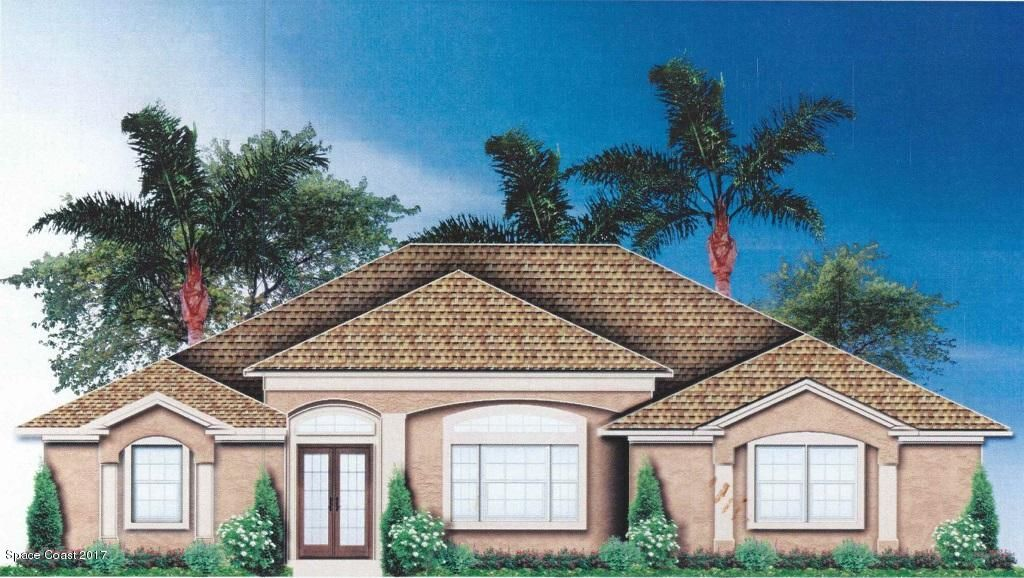 Turn your dream into reality, build new for 2018! This great split floor plan features 4 exquisite bedrooms, 3 impeccable bathrooms and has all the details and comforts you crave! The large Master suite offers his & her walk-in closets; the luxurious master bath radiates class & elegance and offers dual sinks, large roman tub and walk in shower. The kitchen features raised panel 42'' cabinets, granite or quartz counter tops and GE SS appliances. 18'' Mohawk ceramic tile flooring flows throughout main living areas, and plush carpet covers the bedroom floors. Enjoy easy maintenance with a professionally designed landscaping package, automatic irrigation system & a brick-paver driveway. This home is packaged with a covered/screened lanai and refreshing pool. *Photos are of different model*